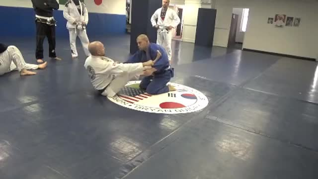 Spider guard to shin hook
