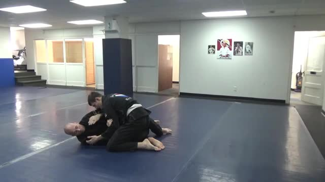 Half guard bottom - Level 2