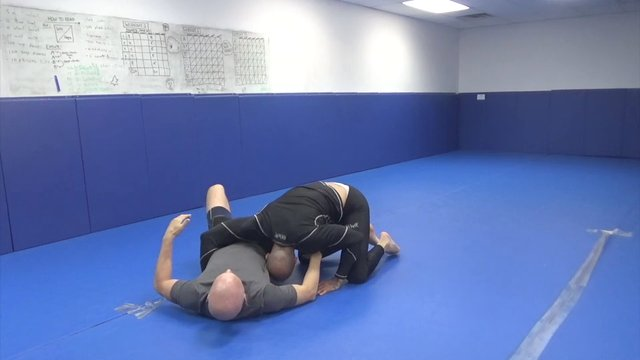 Blue belt butterfly sweep to guillotine