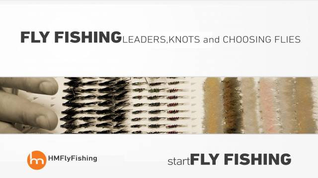 Fly fishing leaders, knots and choosing flies - Start fly fishing #5