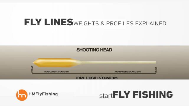 Fly line weights and profiles explained - Start fly fishing #3