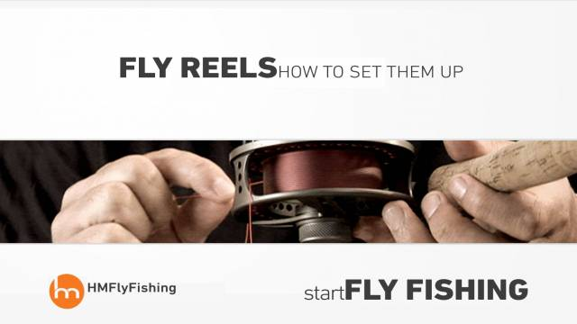 Fly reels explained and how to set them up - Start fly fishing #4
