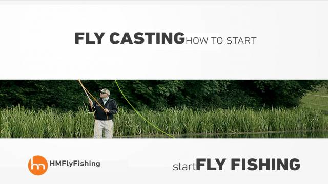 How to cast a fly rod - Start fly fishing #6