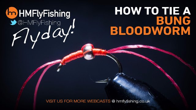 Tying a Bung Bloodworm fly pattern