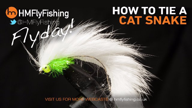 Tying a Cat Snake fly pattern
