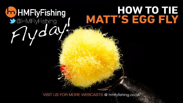 Tying Matt's egg fly pattern