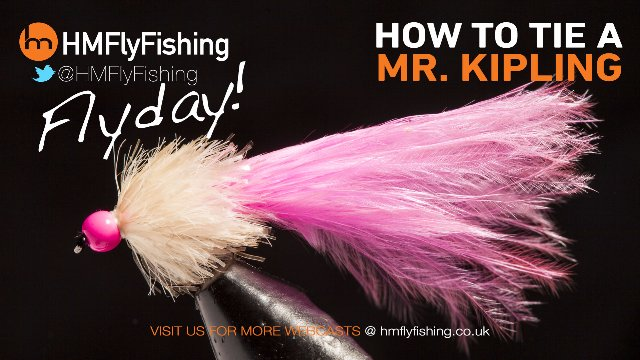 Tying a Mr Kipling fly pattern