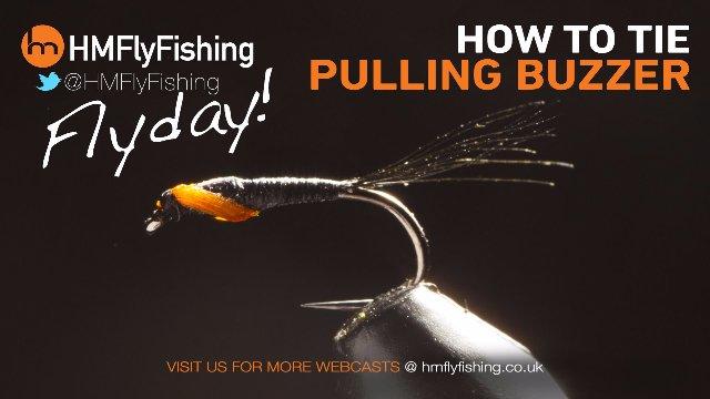 Tying a Pulling Buzzer fly pattern