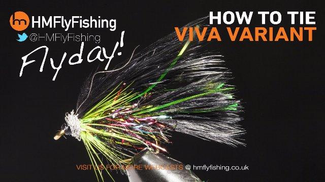 Tying a Viva Variant fly pattern