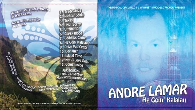 Andre Lamar - He Goin Kalalau - CD