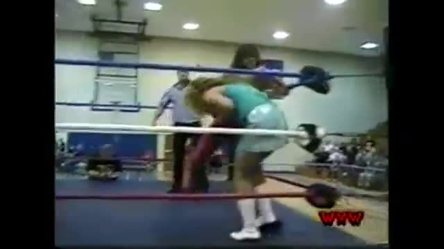 WXW Elite 8 Women's Tournament 2002- Griffin -vs- Jessica Dally