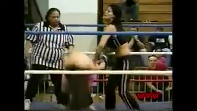 WXW's Elite 8 2002 Women's Tournament- Tracy Brooks -vs- Ariel
