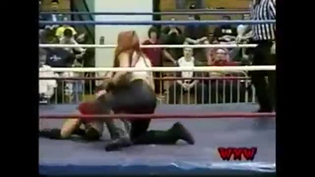 WXW's Elite 8 2002 Women's Tournament- Gail Kim (La Felina) -vs- April Hunter
