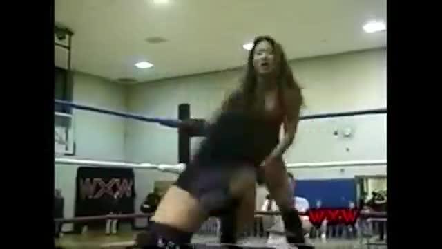 WXW's Elite 8 2002 Women's Tournament- Gail Kim (La Felina) -vs- Tracy Brooks