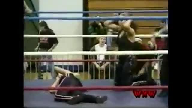 WXW's Elite 8 2002 Women's Tournament- FINALS- Tracy Brooks -vs- Mercedes Martinez