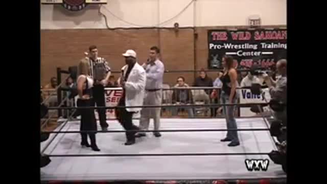 WXW's Elite 8 Women's Tournament 2007- Introduction featuring WWE Hall of Famer SUNNY