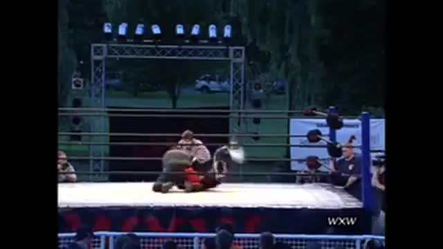 WXW's Sportsfest 2005- Devon Moore -vs- Shorty Smalls w/Kaycee Carlisle