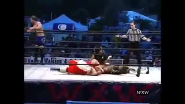 WXW's Sportsfest 2005- Molsonn, CJ O'Doyle, & Bishop w/The Purifier -vs- Cabbie, Sinister X, & Chillie