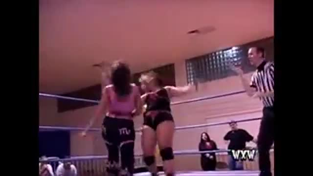WXW's Elite 8 2008- Mercedes Martinez -vs- Lexie Fyfe