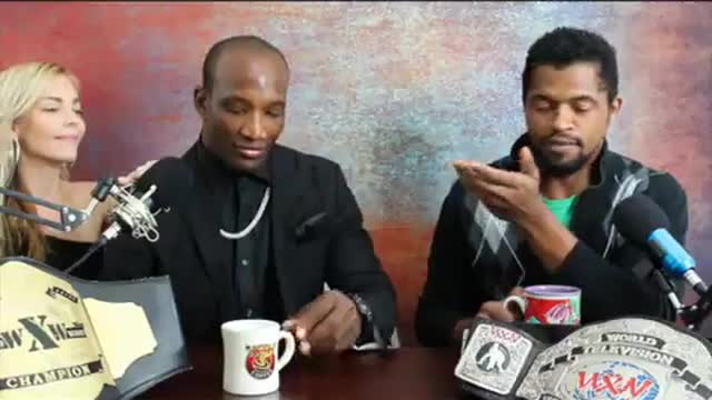 The Chocolate Stud Gariston Spears presents CHOCOLATE TALK NOW with Tony Ice