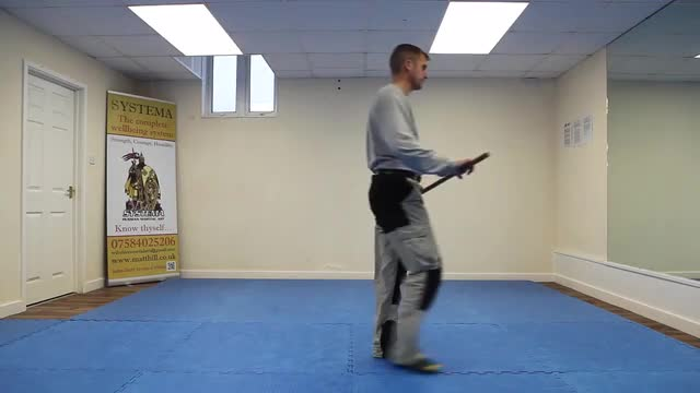 Systema Combat Drill 9: Weapon Familiarity