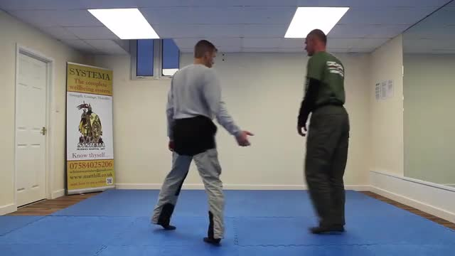 Systema Combat Drill 5: Long work with Strikes