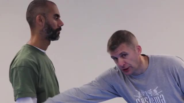 Systema Combat Drill 3: Washing Push Strikes