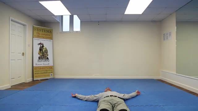Systema Health Drill 19: Rolling Flat