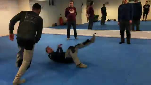 Systema Combat Warm Up Exercise