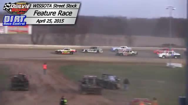 Ogilvie Raceway April 25, 2015 WISSOTA Street Stock Races
