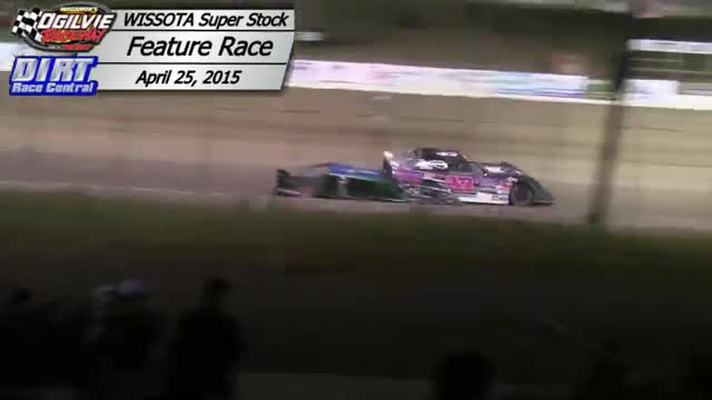 Ogilvie Raceway April 25, 2015 WISSOTA Super Stock Races