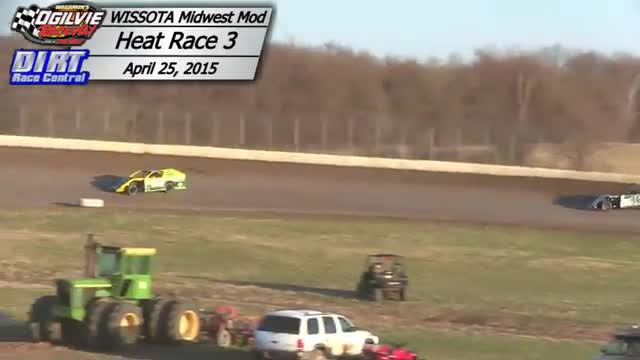 Ogilvie Raceway April 25, 2015 WISSOTA Midwest Modified Races