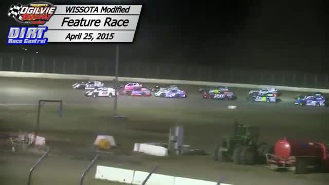 Ogilvie Raceway April 25, 2015 WISSOTA Modified Races