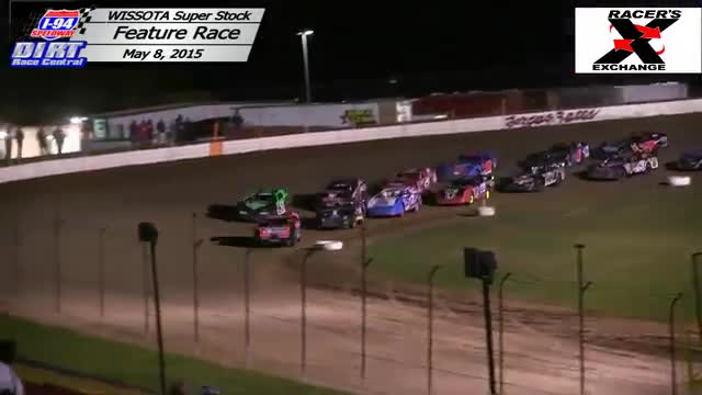 I-94 Speedway May 8, 2015 WISSOTA Super Stock Races
