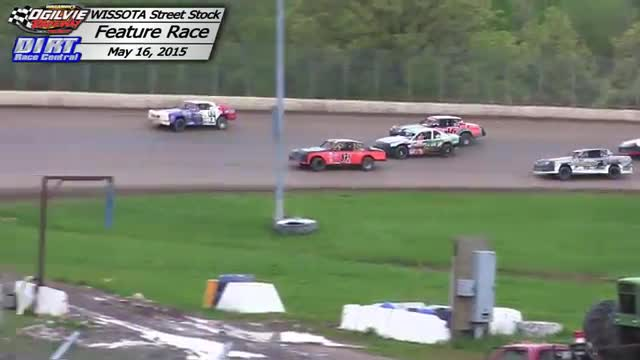 Ogilvie Raceway May 16, 2015 WISSOTA Street Stock Races