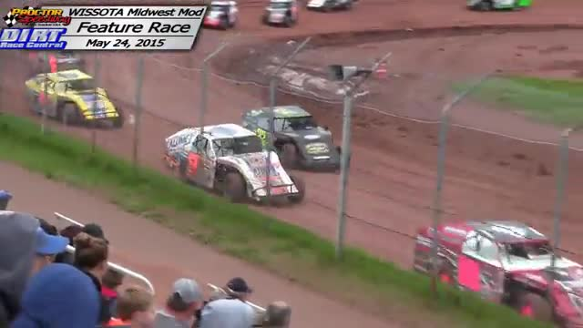 Proctor Speedway May 24, 2015 WISSOTA Midwest Modified Races