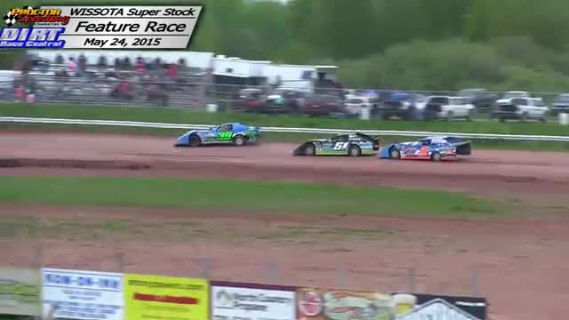 Proctor Speedway May 24, 2015 WISSOTA Super Stock Races