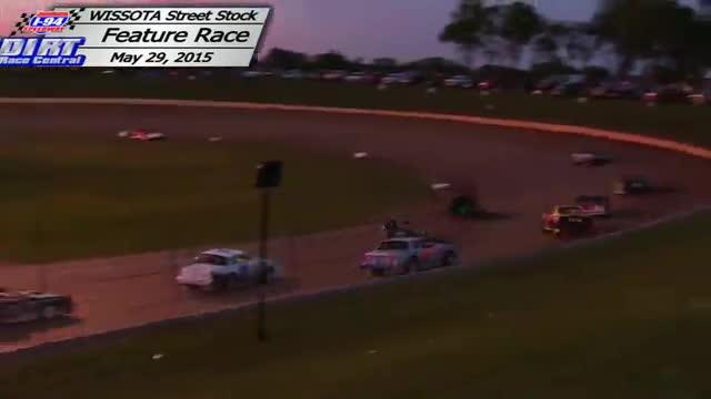 I-94 Speedway May 29, 2015 WISSOTA Street Stock Races