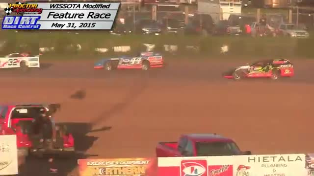 Proctor Speedway May 31, 2015 WISSOTA Modified Races