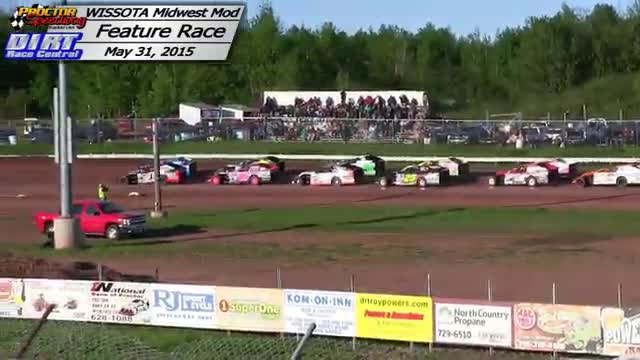Proctor Speedway May 31, 2015 WISSOTA Midwest Modified Races