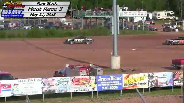 Proctor Speedway May 31, 2015 Proctor Speedway Pure Stock Races
