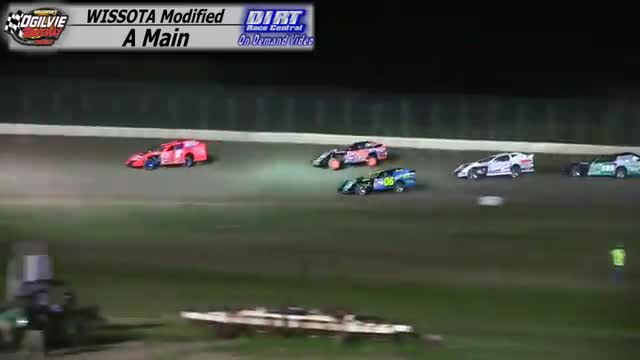Ogilvie Raceway June 27, 2015 WISSOTA Modified Races