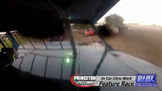 In Car Chris Wark July 17, 2015 Princeton Speedway