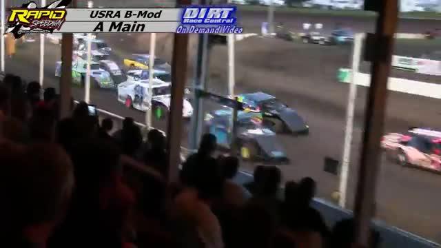 Rapid Speedway July 21, 2015 USRA B Mod Races