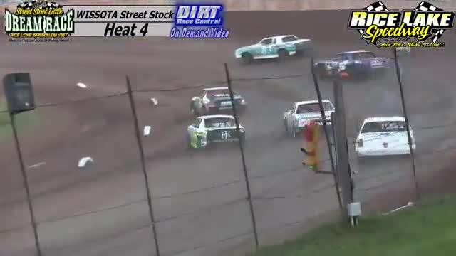 Rice Lake Speedway August 4, 2015 Little Dream WISSOTA Street Stock Heat Races