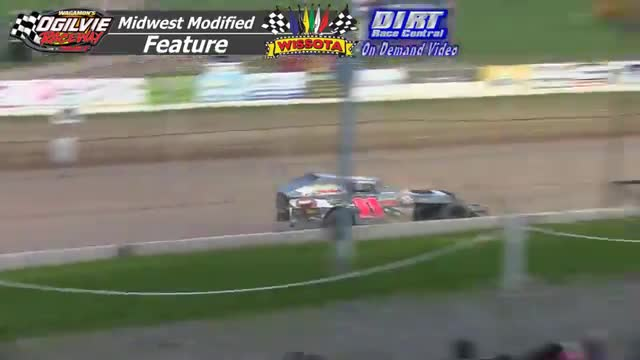 Ogilvie Raceway August 15, 2015 WISSOTA Midwest Modified Races