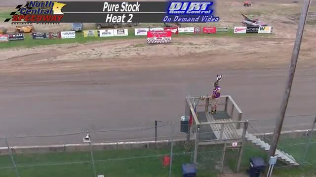 North Central Speedway August 29, 2015 Pure Stock Races