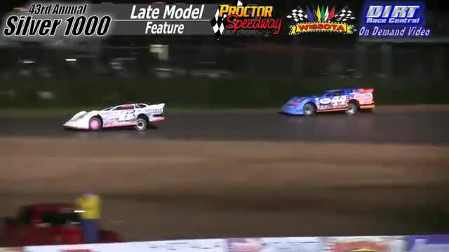 Proctor Speedway September 3, 2015 Silver 1000 Late Model Feature