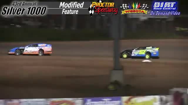 Proctor Speedway September 3, 2015 Silver 1000 Modified Feature