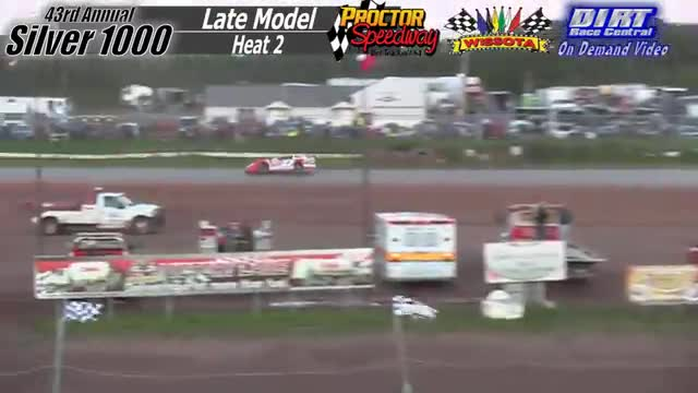 Proctor Speedway September 3, 2015 Silver 1000 Late Model Heat Races